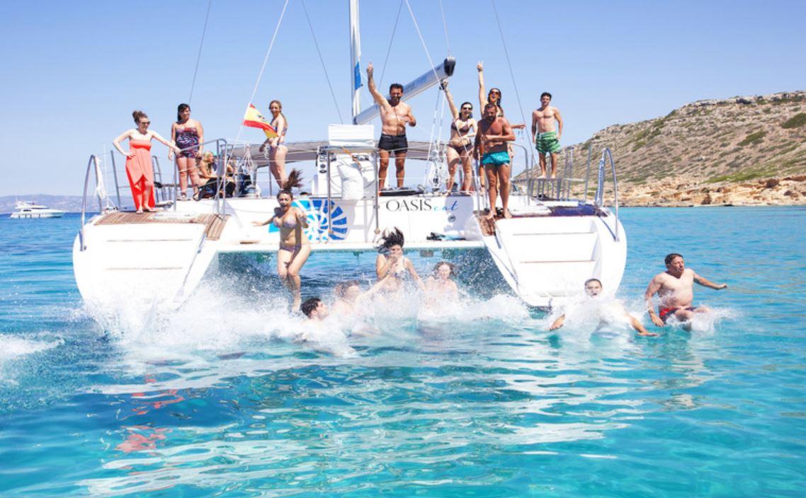 Katamaran Ausflug auf Mallorca
