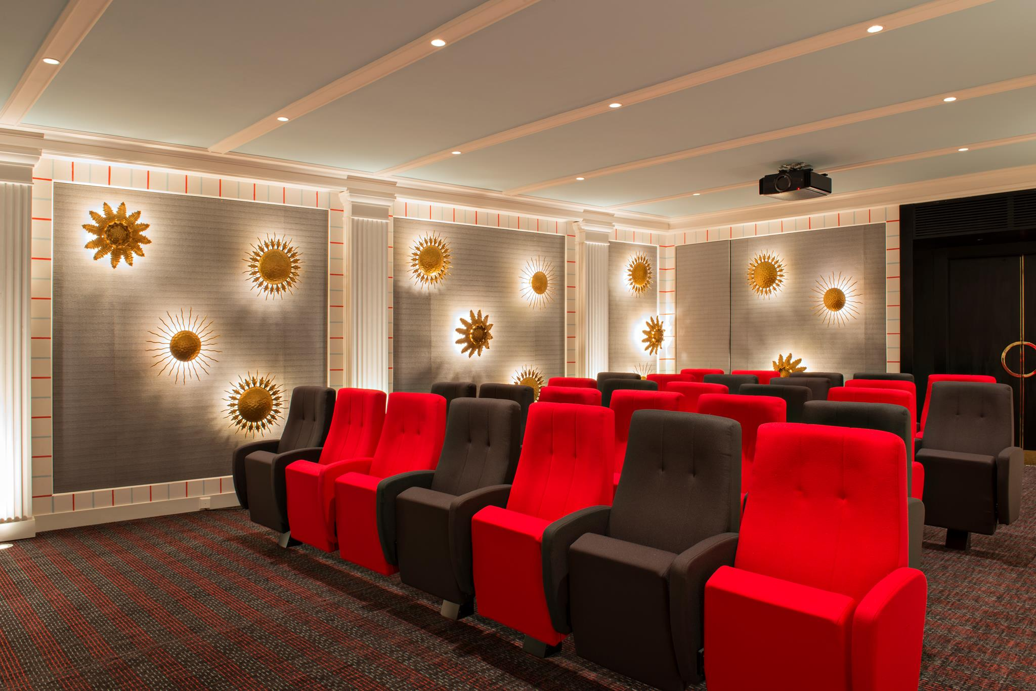 seating area - private cinema